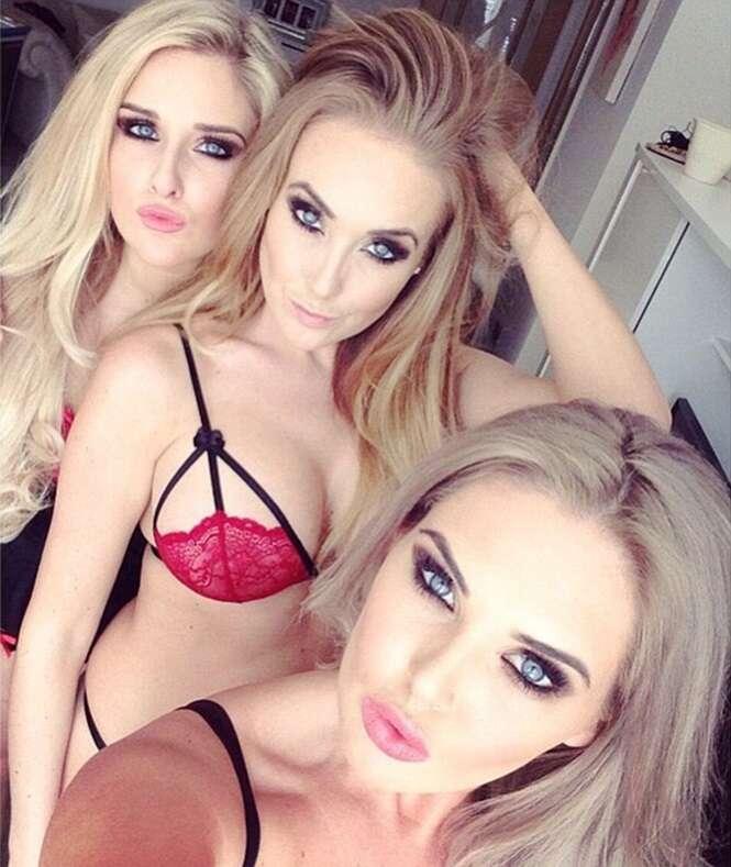Irmãs deslumbrantes postam selfies na internet e recebem presentes em valor superior a R$ 420 mil