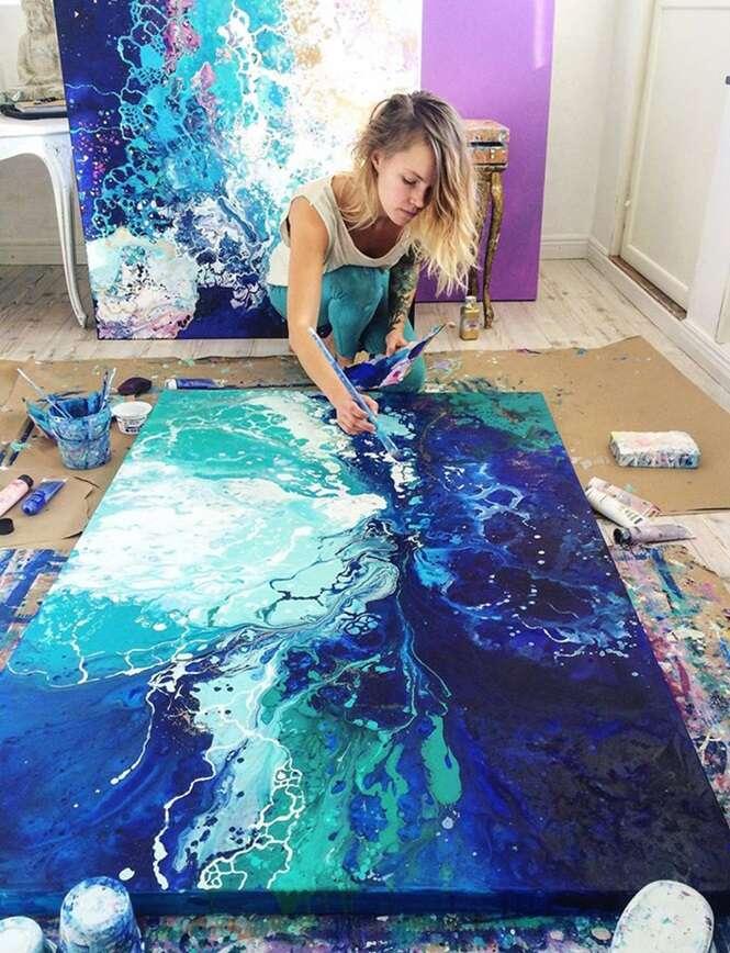 Artista cria pinturas incríveis e tenta inspirar pessoas a descobrirem suas vocações