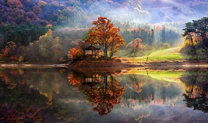 Imagens fantásticas de paisagens da Coréia do Sul