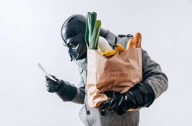 Veja como seria o cotidiano de Darth Vader