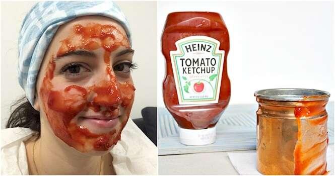 Usos incomuns para o ketchup