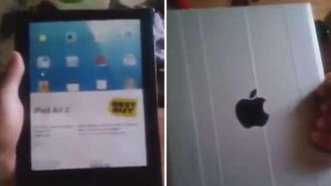 Homem paga pechincha por iPad através da internet e recebe dispositivo feito de lata e papel