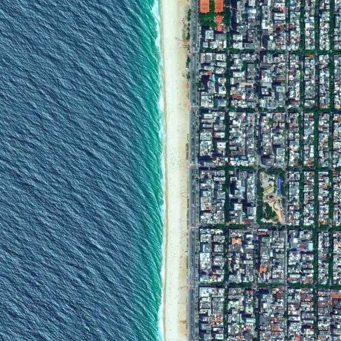 Imagens aéreas de cidades do Brasil que vão te impressionar