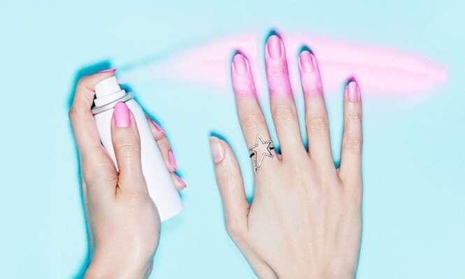 Empresa de esmaltes lança spray inovador que pinta suas unhas