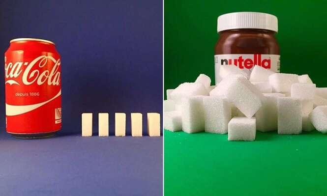 Conta no Instagram revela quantidade de açúcar que consumimos em determinados alimentos