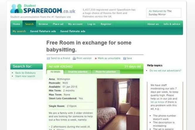Mulher oferece na internet quarto com Wi-Fi e todas as contas pagas a quem puder ajudá-la a cuidar de seus três filhos
