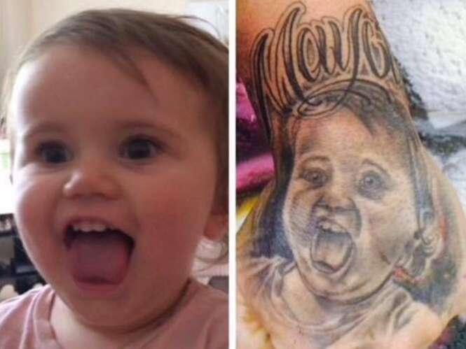Tatuagens que não saíram como o planejado