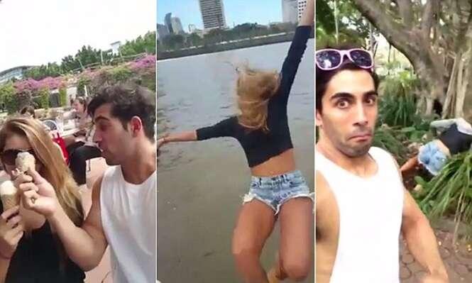 Australiano causa polêmica ao postar vídeo trolando a própria namorada