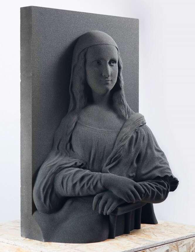 Pinturas clássicas são transformadas em arte 3D