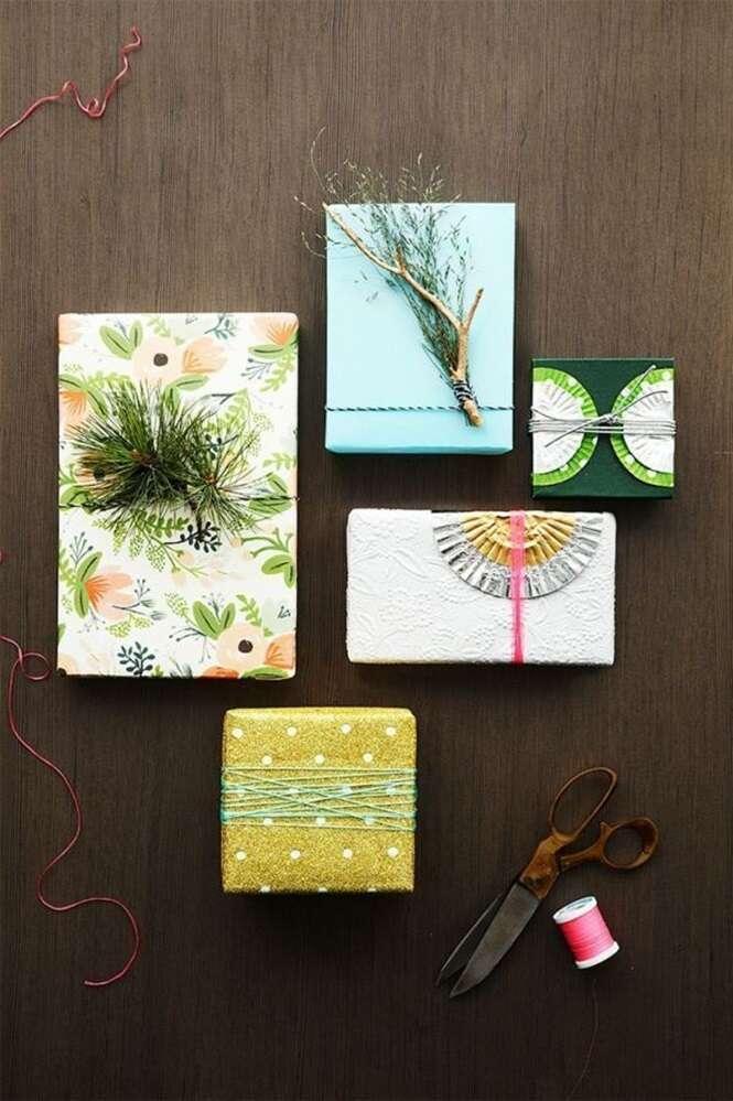 Embrulhos de presentes que você vai ter dó em abrir