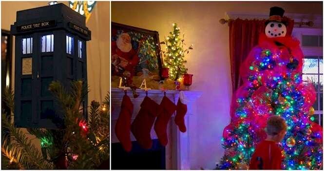Ideias para variar no topo de sua árvore de Natal