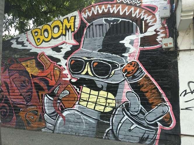 Artes de rua dignas de grandes pintores