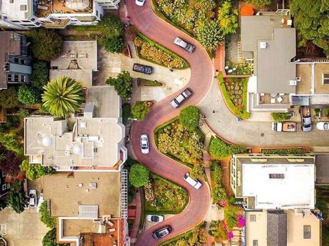 Imagens incríveis registradas por drones