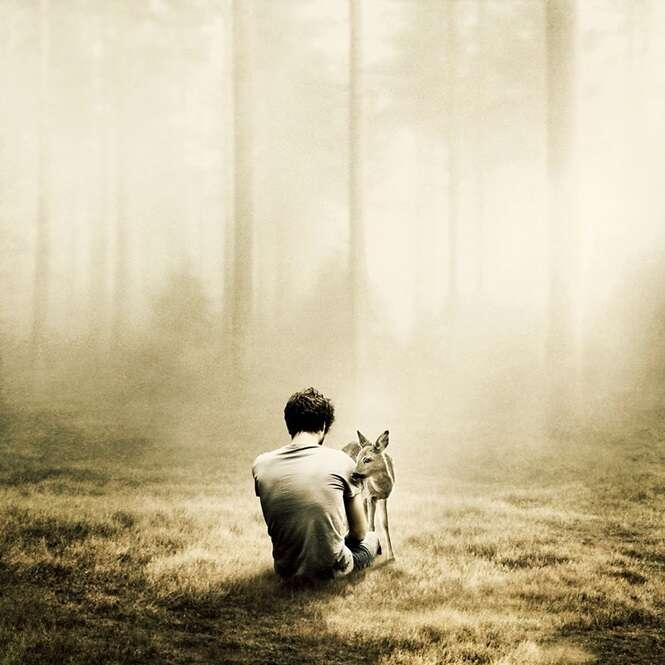Com seu trabalho, fotógrafo mostra o lado mágico de estar só
