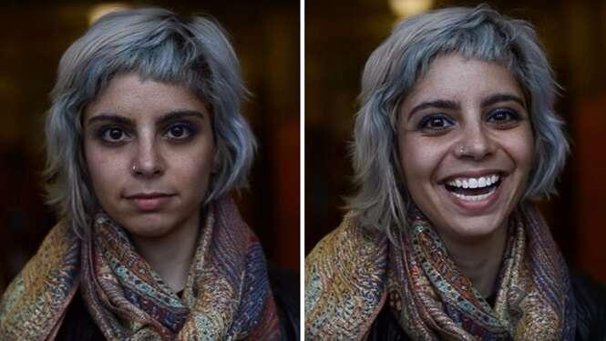 Estudante registra o que acontece com as pessoas quando alguém diz que elas são bonitas