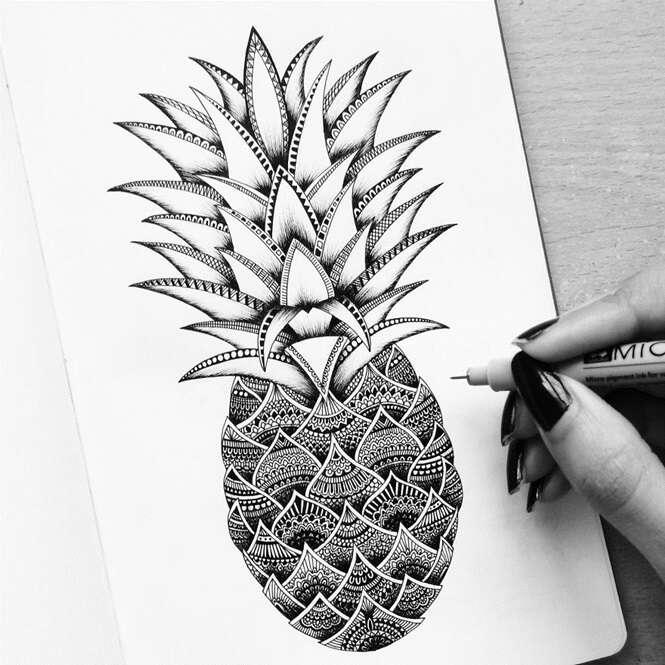 Artista chama atenção com desenhos incrivelmente detalhados