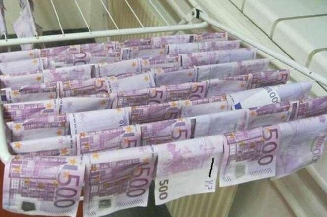 Homem encontra equivalente a mais de 400 mil reais em rio na Áustria.