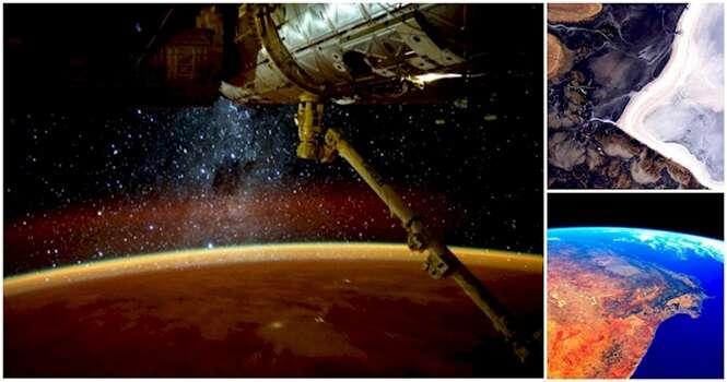 As mais belas imagens registradas no espaço em 2015