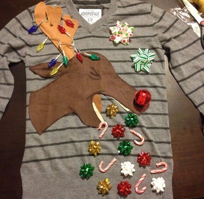 As piores roupas de Natal