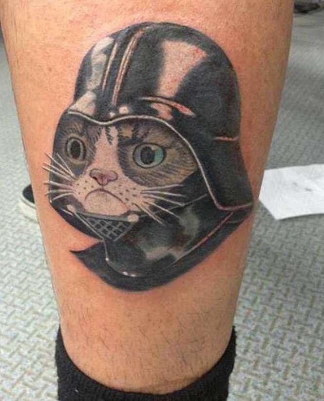 Tatuagens curiosas inspiradas em Star Wars