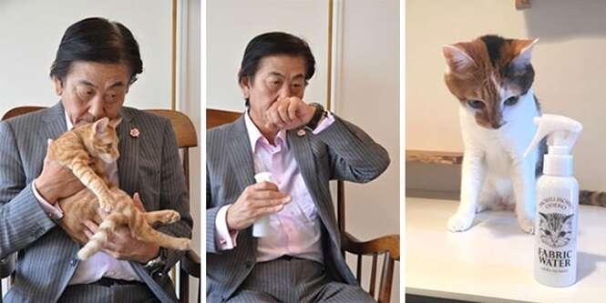 Japoneses criam spray que permite deixar tudo com cheiro de gato