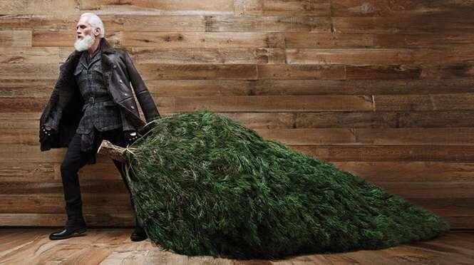Conheça o Papai Noel mais estiloso do mundo