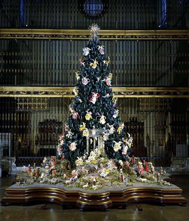 As mais incríveis árvores de Natal de todo o mundo