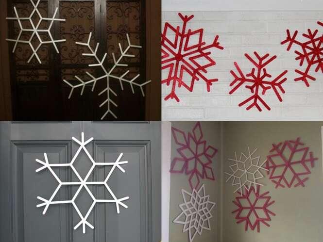 Ideias de decoração de Natal de última hora