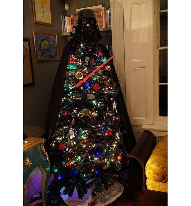 Árvores de Natal nada comuns