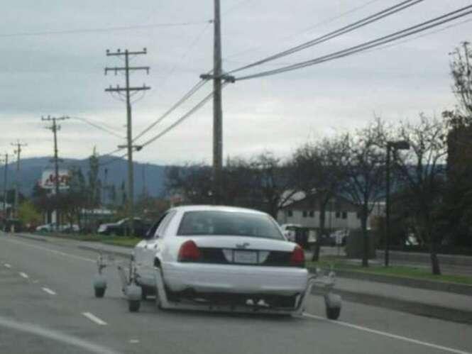 Veículos estranhos encontrados por aí