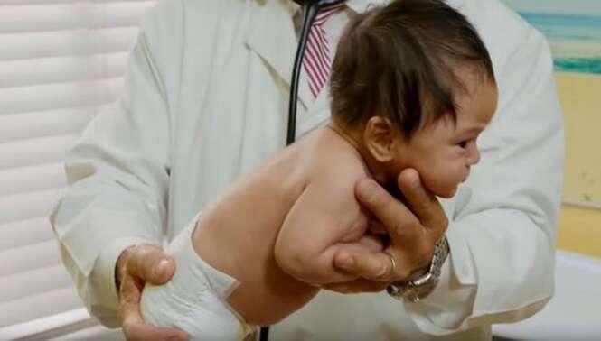 Pediatra ensina truque simples para fazer bebê parar de chorar