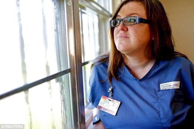 Jennifer Lacey Frazier perdeu a filha, Jacey, de apenas seis meses de vida
