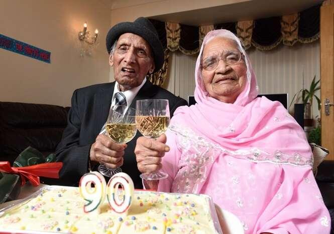 Casal mais antigo do mundo, comemora 90 anos de casamento