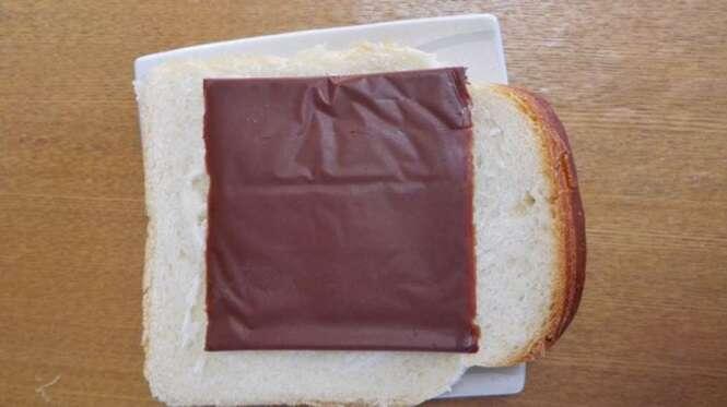 Nova mania no Japão são chocolates fatiados como mussarela