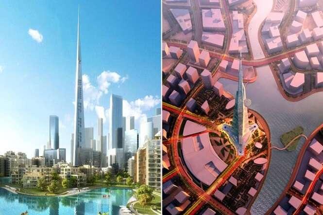 Arábia Saudita constrói arranha céu mais alto do mundo