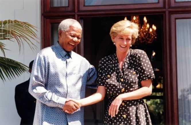 Fotos históricas de famosos reunidos