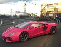 Japoneses criam Lamborghini feita de papelão