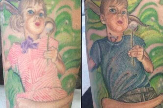 Mãe atualiza tatuagem de filha após adolescente se assumir homem