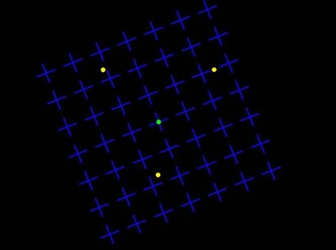 """Ilusão de ótica faz pontos desaparecerem causando """"cegueira induzida"""""""