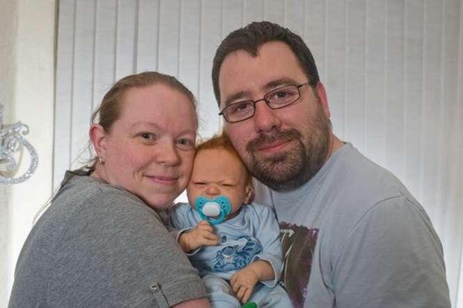 Casal que vive há 10 anos sem nunca ter tido relação íntima porque mulher tem fobia a sexo realiza sonho de ter filhos