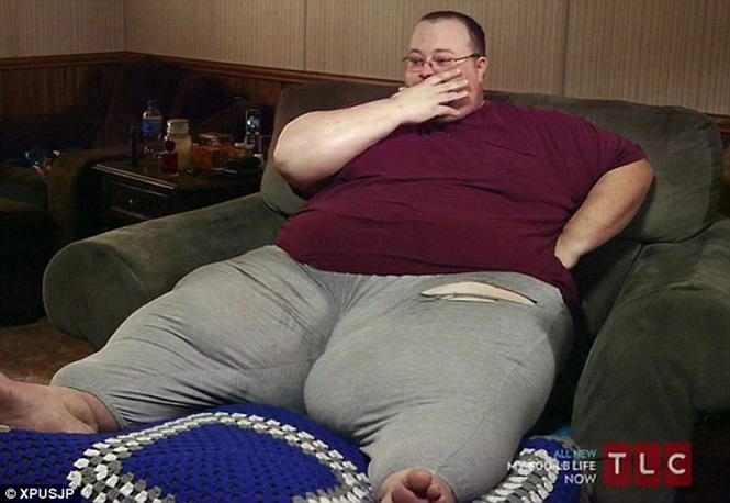 Obeso de 315 quilos teme perder sua família