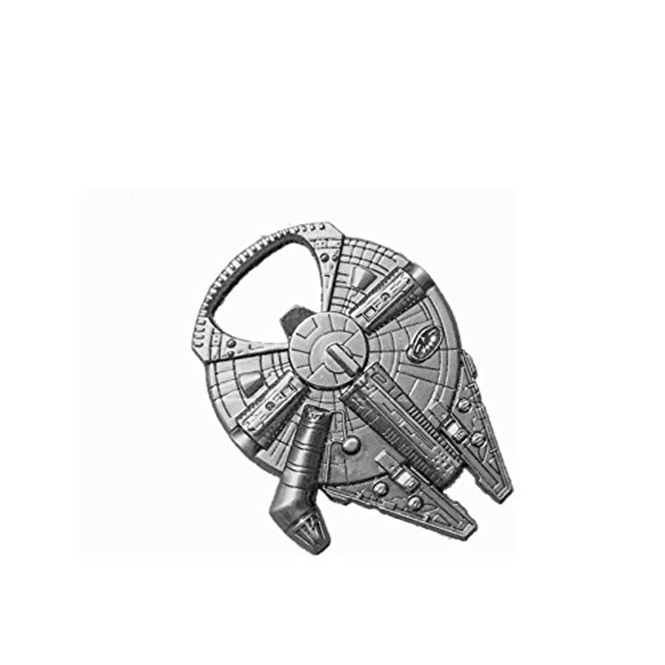 via Amazon / Millenium Falcon metal bottle opener