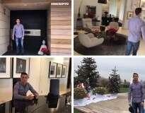 Conheça a casa de Cristiano Ronaldo em Madrid