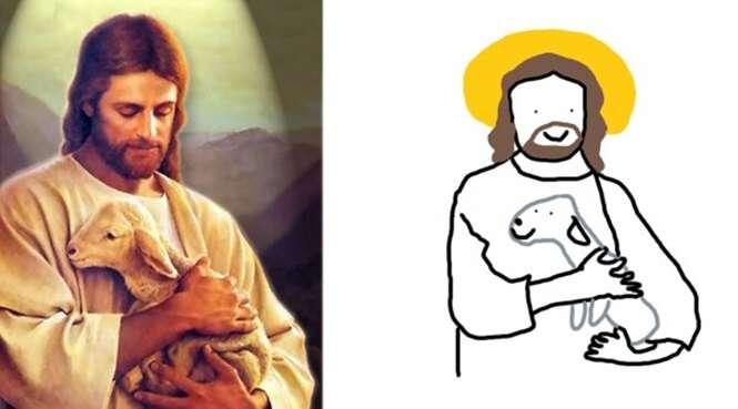 Imagens famosas que ganharam versões hilárias feitas no Paint