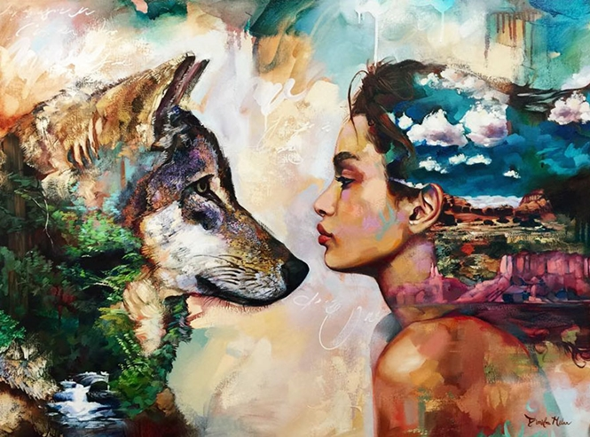 Artista de 16 anos transforma seus sonhos em lindas pinturas