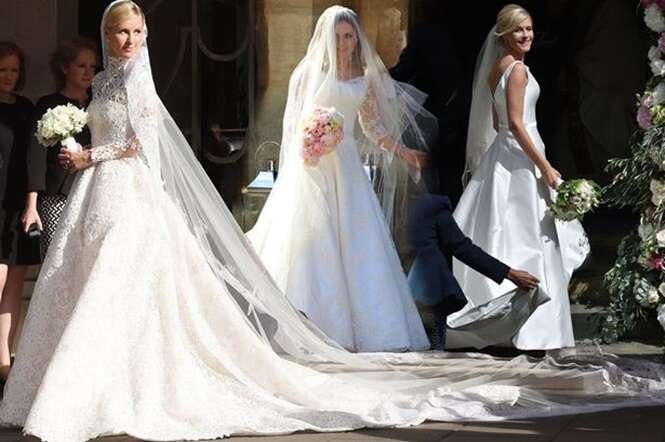 Melhores vestidos de casamento usados pelas celebridades no ano de 2015