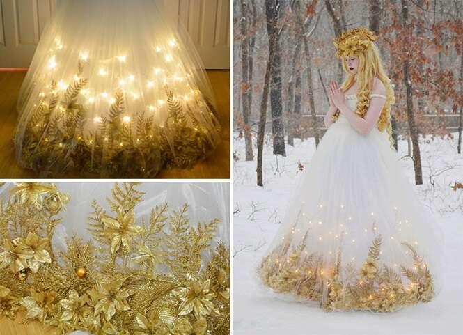 Jovem figurinista faz sucesso com vestidos de noiva dignos de princesas