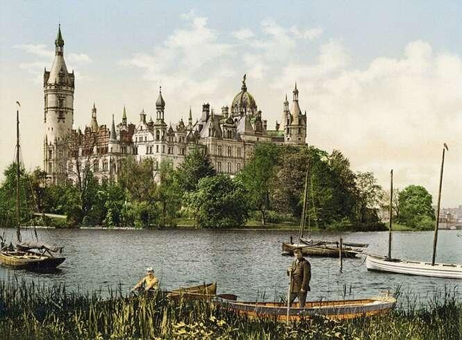 Fotos coloridas raras mostram como era a Alemanha em 1900 antes de ser destruída pela guerra