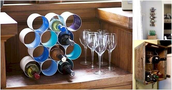 Ideias originais para ter sua própria adega de vinhos