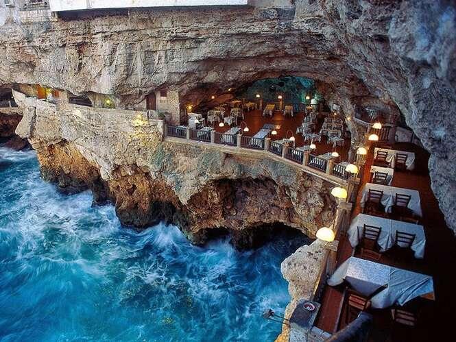 Conheça o restaurante mais romântico do mundo